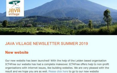 Java Village Nieuwbrief Zomer 2019